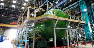 Akkuyu NGS'nin jeneratör üretimi...