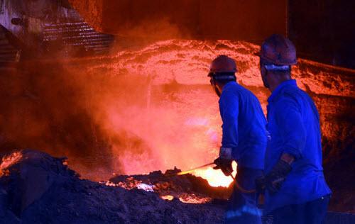 Çelik işçilerinin zorlu ramazanı