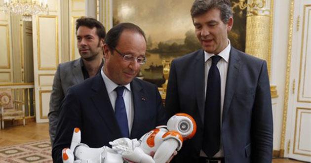 Fransa robotlarla canlanacak