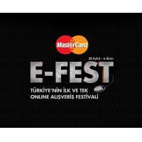MasterCard E-Fest Boyunca Onlarca Hediye