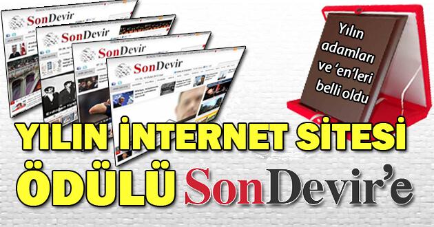 Yılın internet sitesi ödülü Sondevir'e