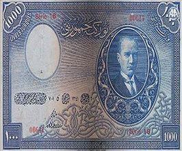 Cumhuriyetin ilk banknotları tedavüle çıktı