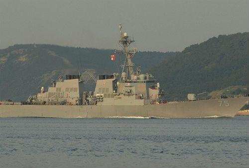 Rus savaş uçağından ABD gemisine taciz