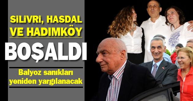 Silivri, Hasdal ve Hadımköy boşaldı