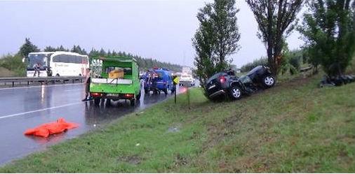 Silivri'de trafik kazası: 2 ölü
