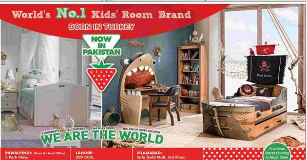 Çilek, Pakistan'da 3 mağaza açtı