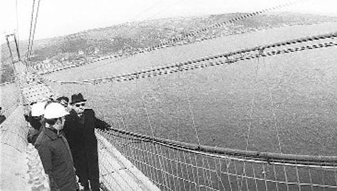 Boğaziçi Köprüsü hizmete açıldı