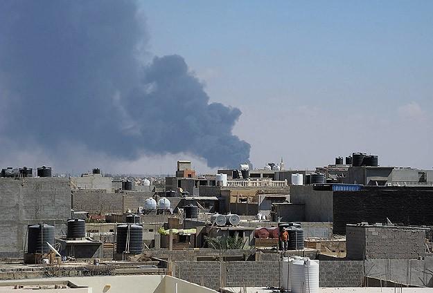Hafter birlikleri Tunus sınırını bombaladı