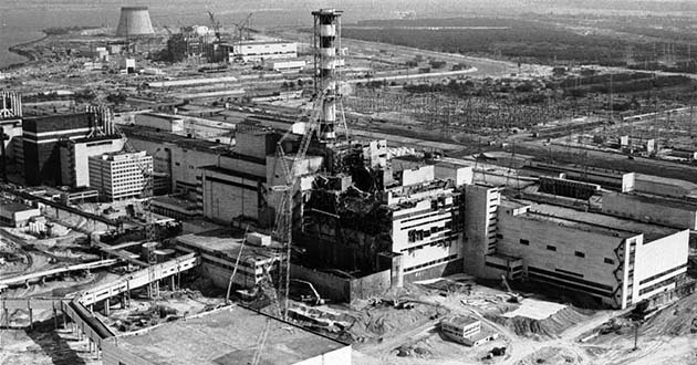 Çernobil Nükleer Santral Faciası yaşandı