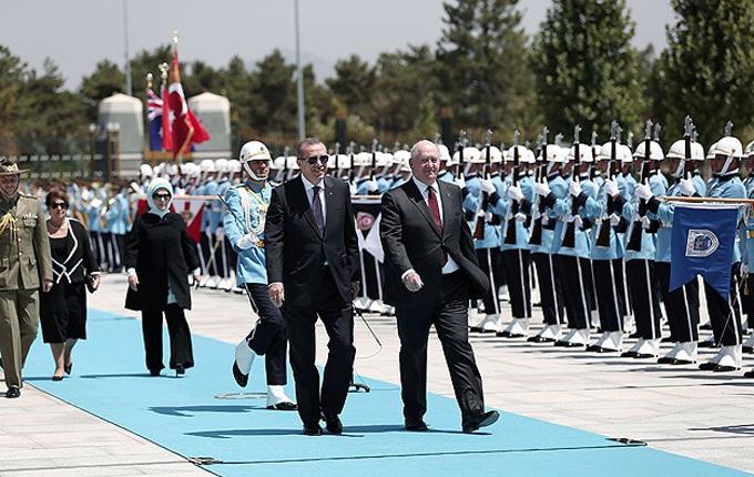 Avustralya Genel Valisi Ankara'da