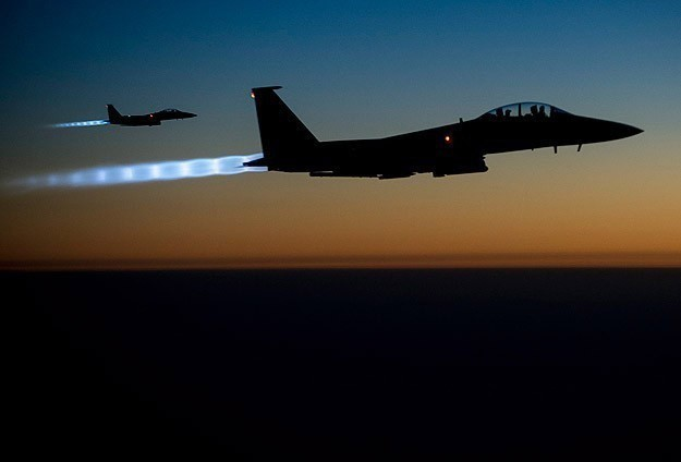 2 Türk savaş uçağı, DEAŞ'a ait 4 hedefi vurdu