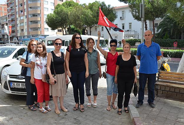 Aydın'da kadınlar askerlik için başvurdu