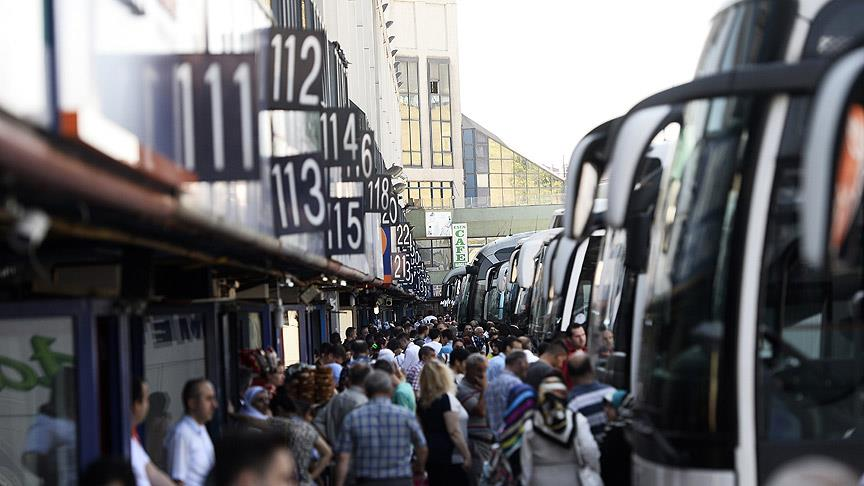 En çok otobüs firmaları bayram etti