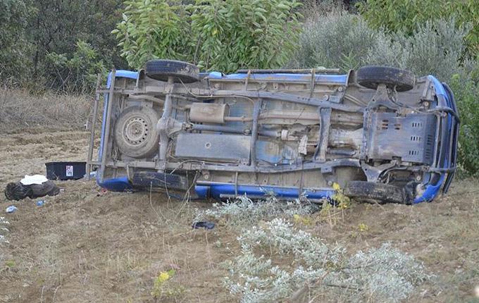Askeri araç kaza yaptı: 1 şehit, 3 yaralı