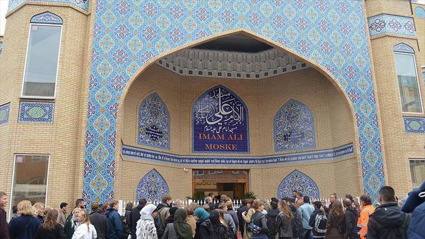 Kopenhag'da İmam Ali Camii ibadete açıldı