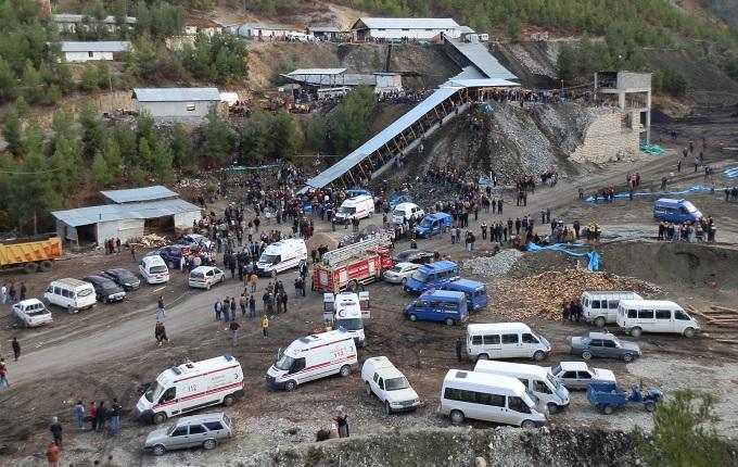 Soma'da gazdan etkilenen işçiler hastanelik oldu