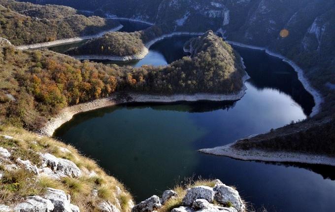 Balkanlardan harika sonbahar pozu