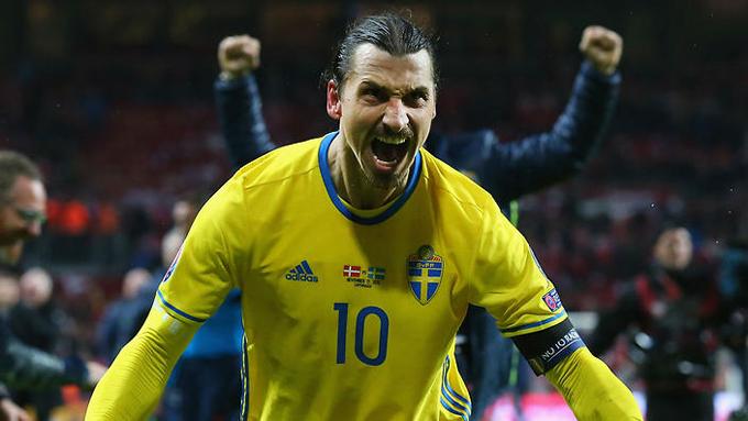 İsveç'i finallere İbrahimovic taşıdı