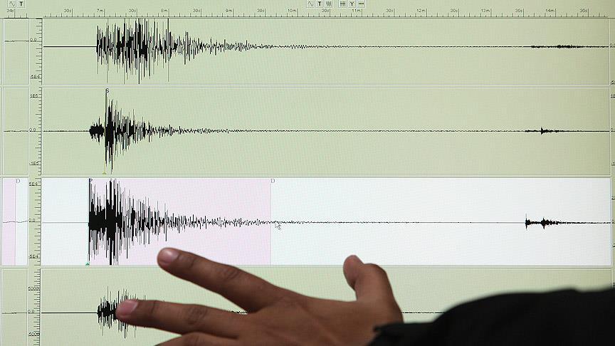 Akdeniz'de deprem korkuttu