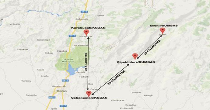 Çukurova'da 5 ayrı deprem