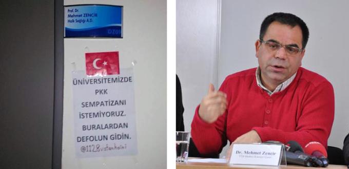 PKK sevici akademisyene Pamukkale Üniversitesi'nde şok