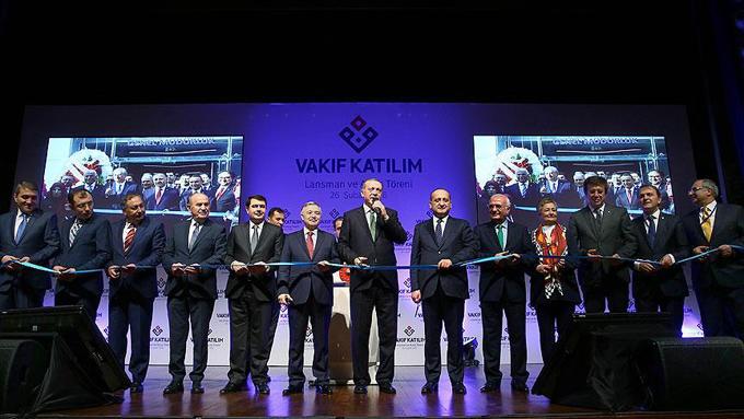 Kamunun ikinci faizsiz bankası Vakıf Katılım açıldı