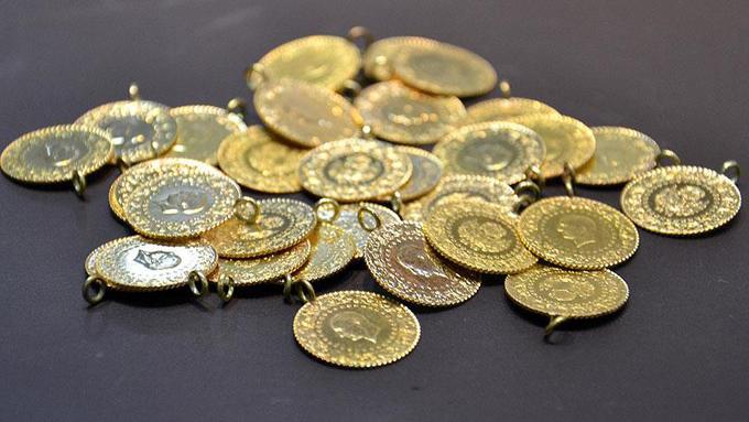 Altının gram fiyatı yüzde 1'in üzerinde arttı