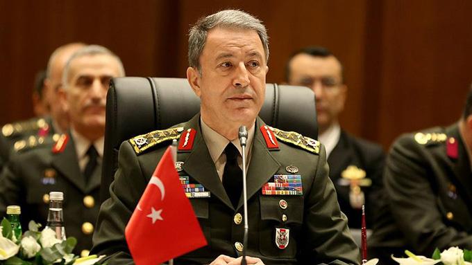Genelkurmay Başkanı Akar: Suriye ve Irak'ta TSK, bin 300 DAEŞ'li öldürdü