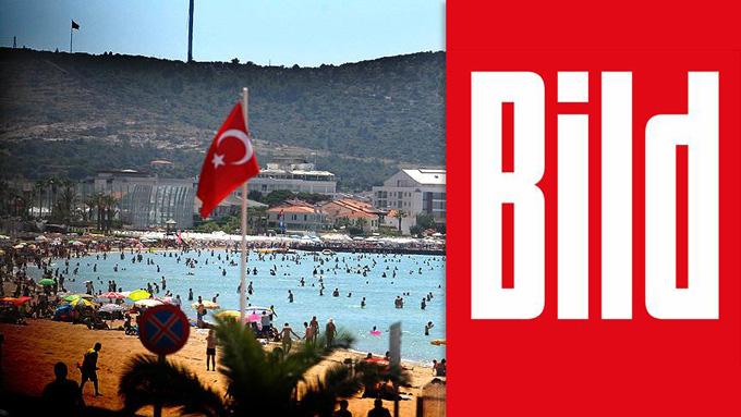 Alman Bild gazetesi: Türkiye'de tatil yüzde 40 daha ucuz