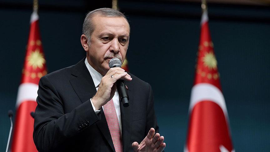Erdoğan'dan batıya 'santral' tepkisi