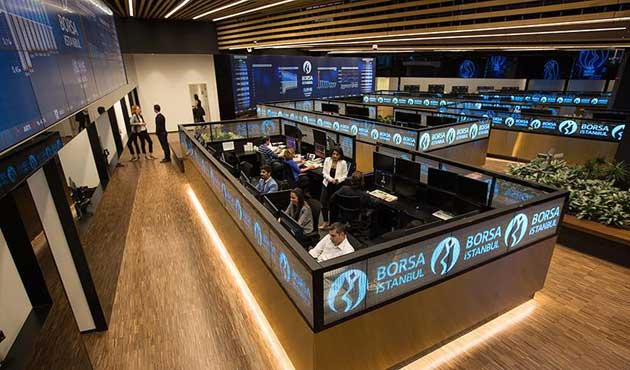 Borsa 9 ayın en yükseğini gördü