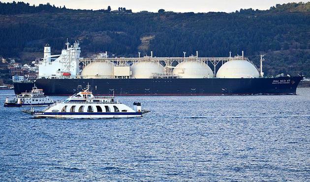 Küresel LNG ithalatında lider Japonya