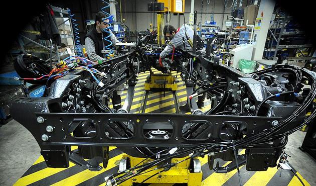 Sanayi üretiminde 20 ayın en hızlı artışı