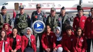 Başkan Erdoğan TEKNOFEST'e katıldı